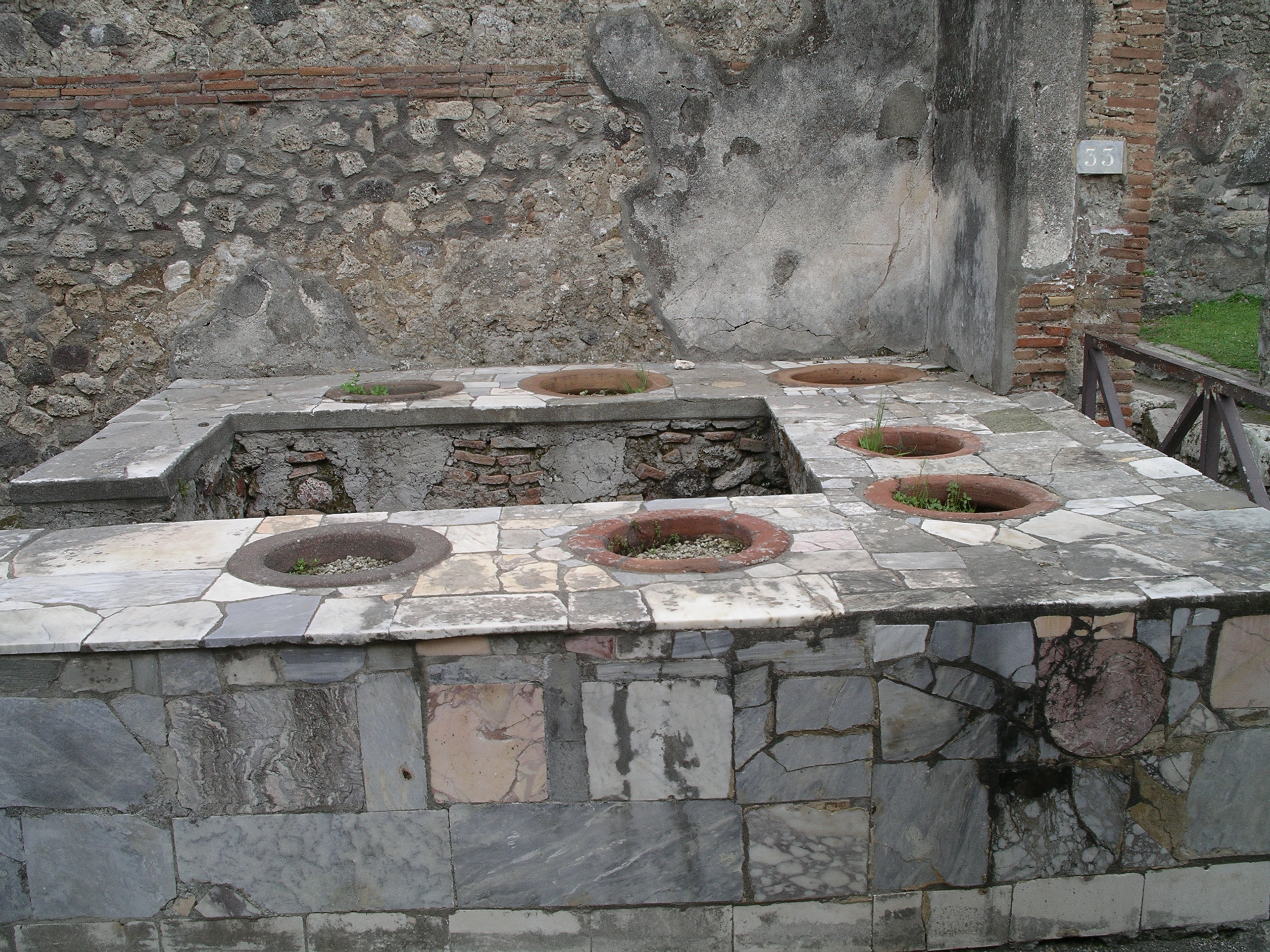 Napoli pompeii for Ancient roman cuisine